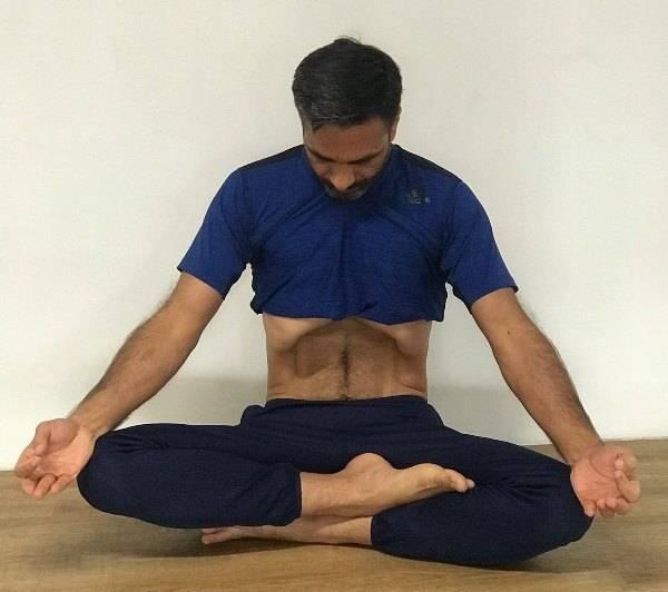 Пранаяма капалабхати — огненное дыхание