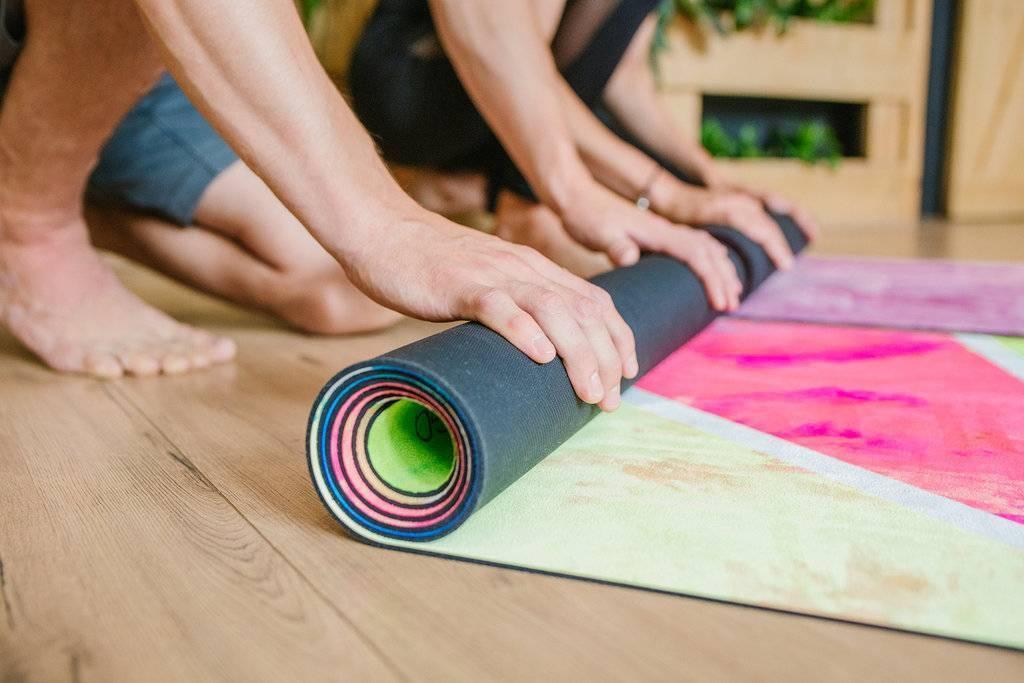 Творческий подход к практике – сделай коврик своими руками