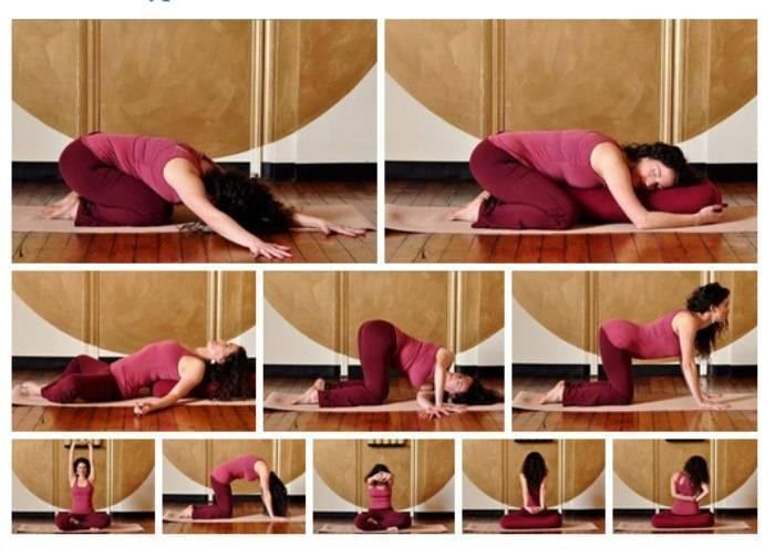 Расслабляющая йога перед сном