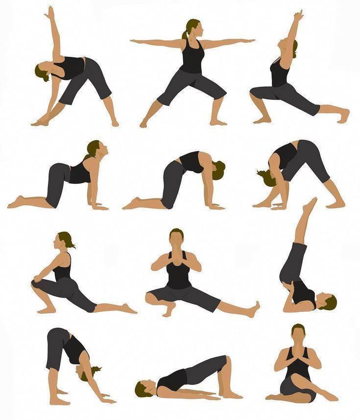 Йога для начинающих: комплекс на похудение
