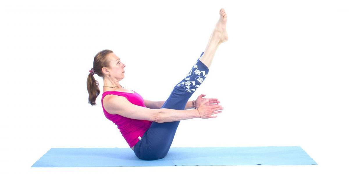 Упражнения йоги для похудения живота: польза и техника выполнения