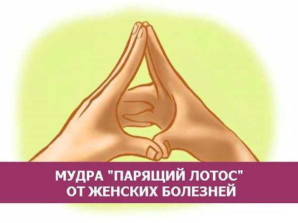 Мудра «поднимающая»
