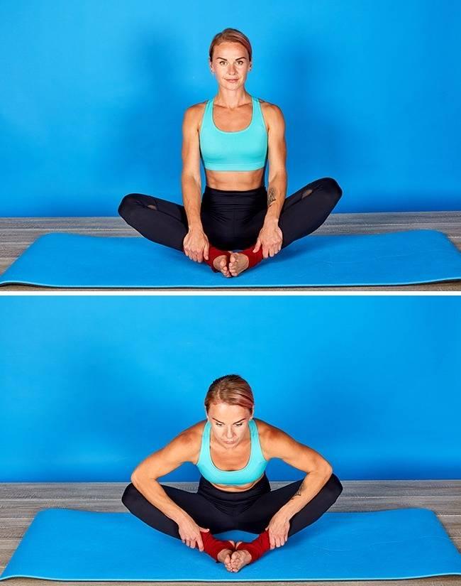 5 упражнений, которые помогут вам сесть на шпагат за неделю