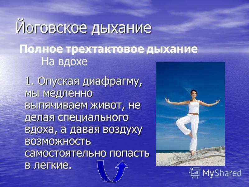 Дыхание в йоге (по левшинову) - диагностер