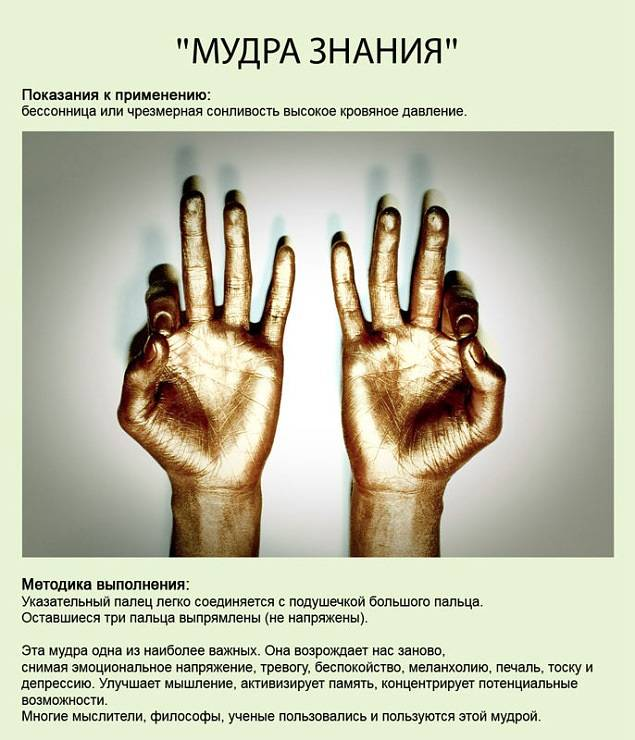 9 мудр йоги для пальцев на каждый день