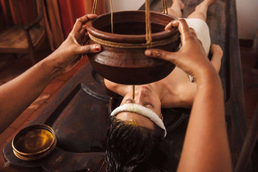 Особенности аюрведического массажа