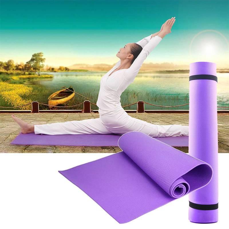 Какую сторону коврика для йоги нужно использовать?   bushido - сеть фитнес-центров