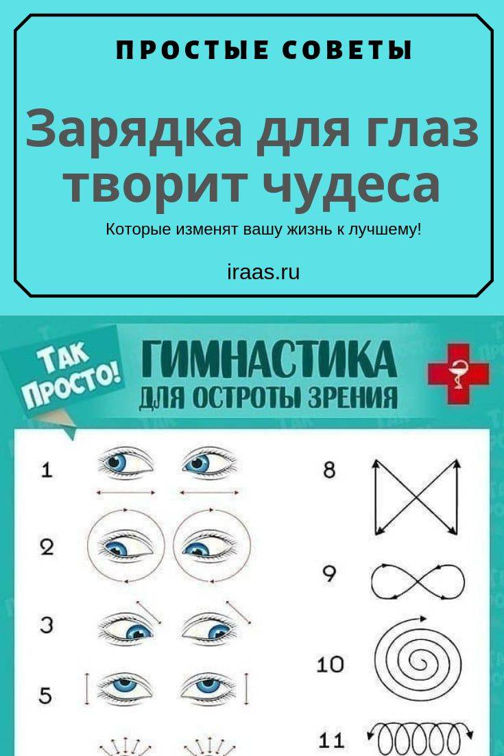 Йога для зрения: 8 упражнений для здоровья глаз