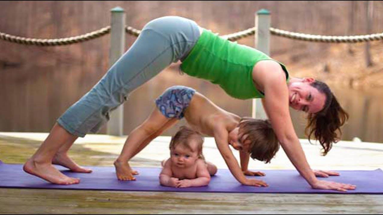 Семейный йога-тур с детской программой