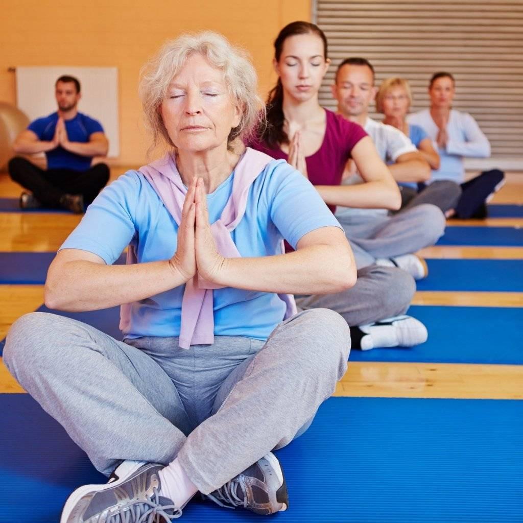 Йога для пожилых людей (артур паталах): 50 — 60 лет и старше: комплекс упражнений для начинающих