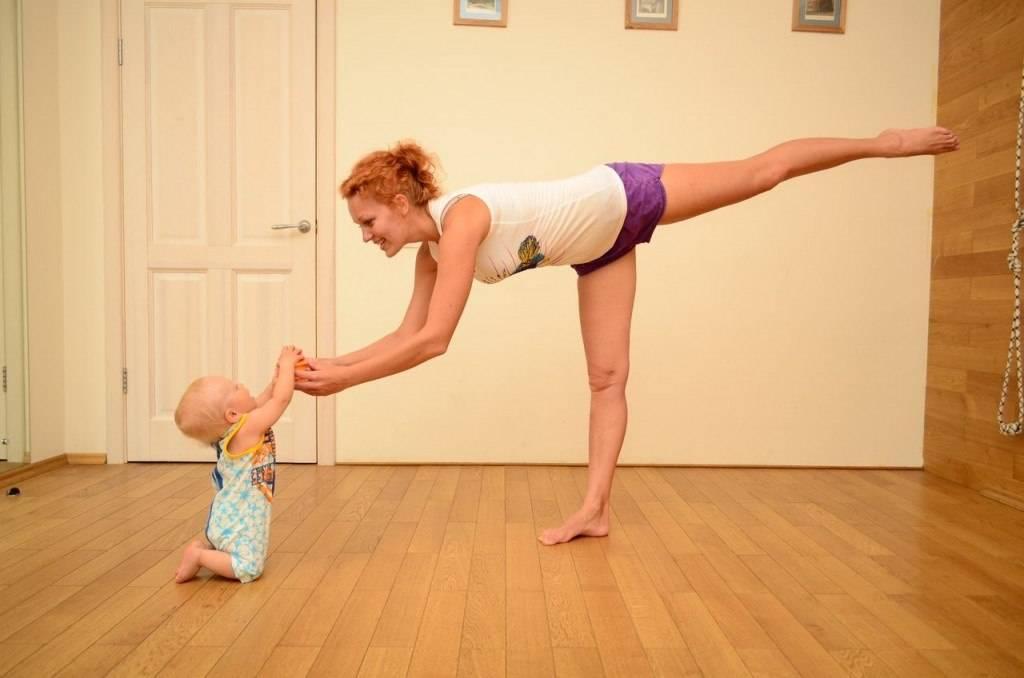 Йога после родов: упражнения дома, видео, восстановление организма