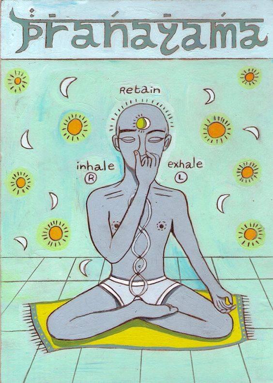 Дыхание хатха-йога для начинающих. статья.