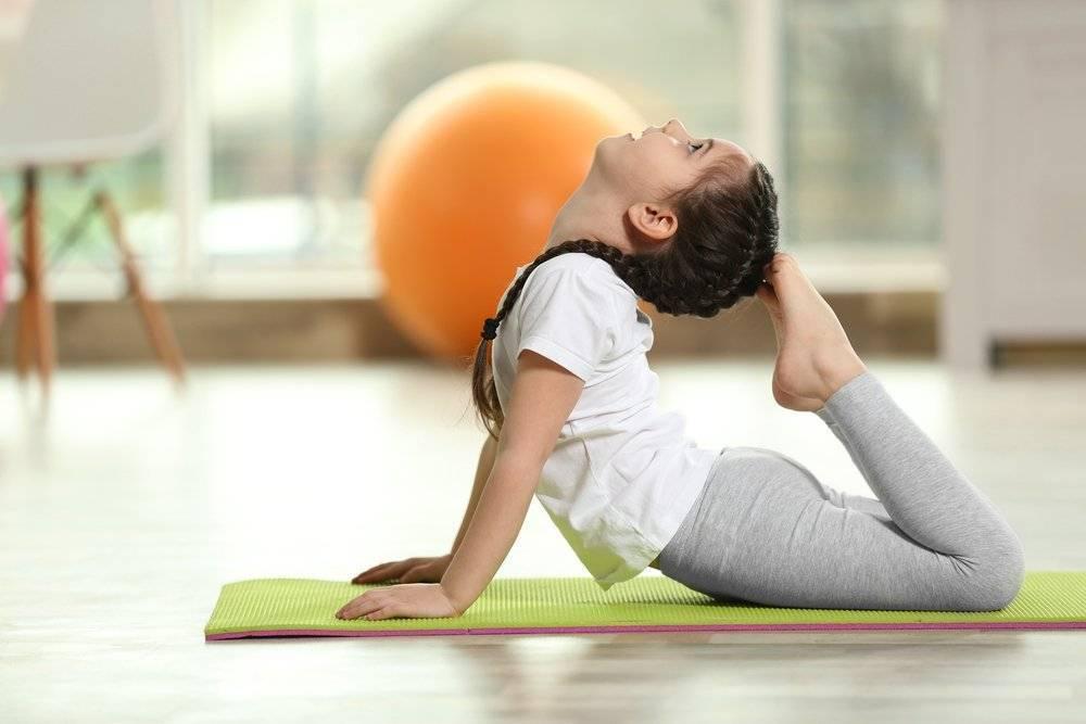 Йога упражнения для красивой осанки