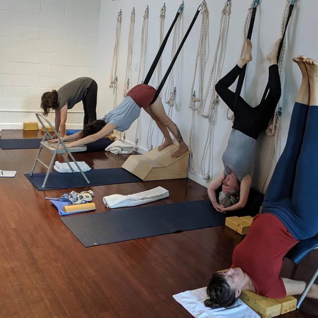 """Ассоциация и некоммерческое партнерство """"содействие развитию йоги айенгара"""""""