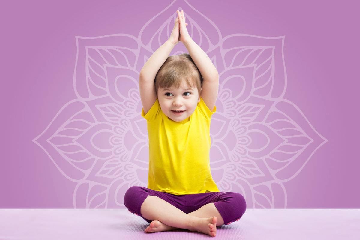 Йога для детей: польза, упражнения и видео занятий