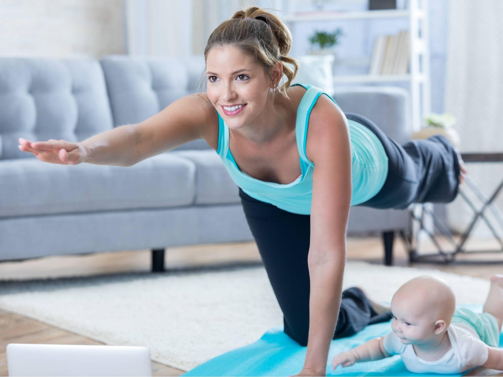 Эффективная йога после родов - упражнения для восстановления дома