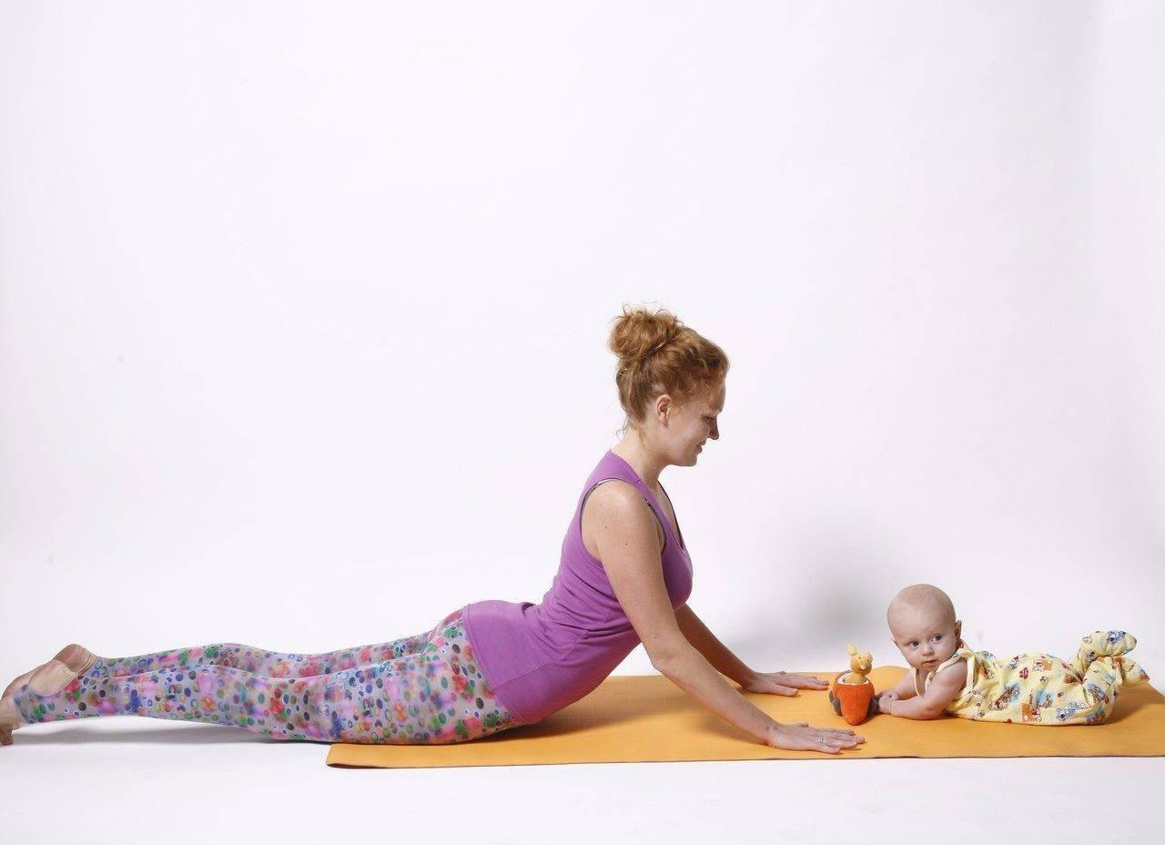 Йога после родов — когда начинать заниматься и какие упражнения делать?