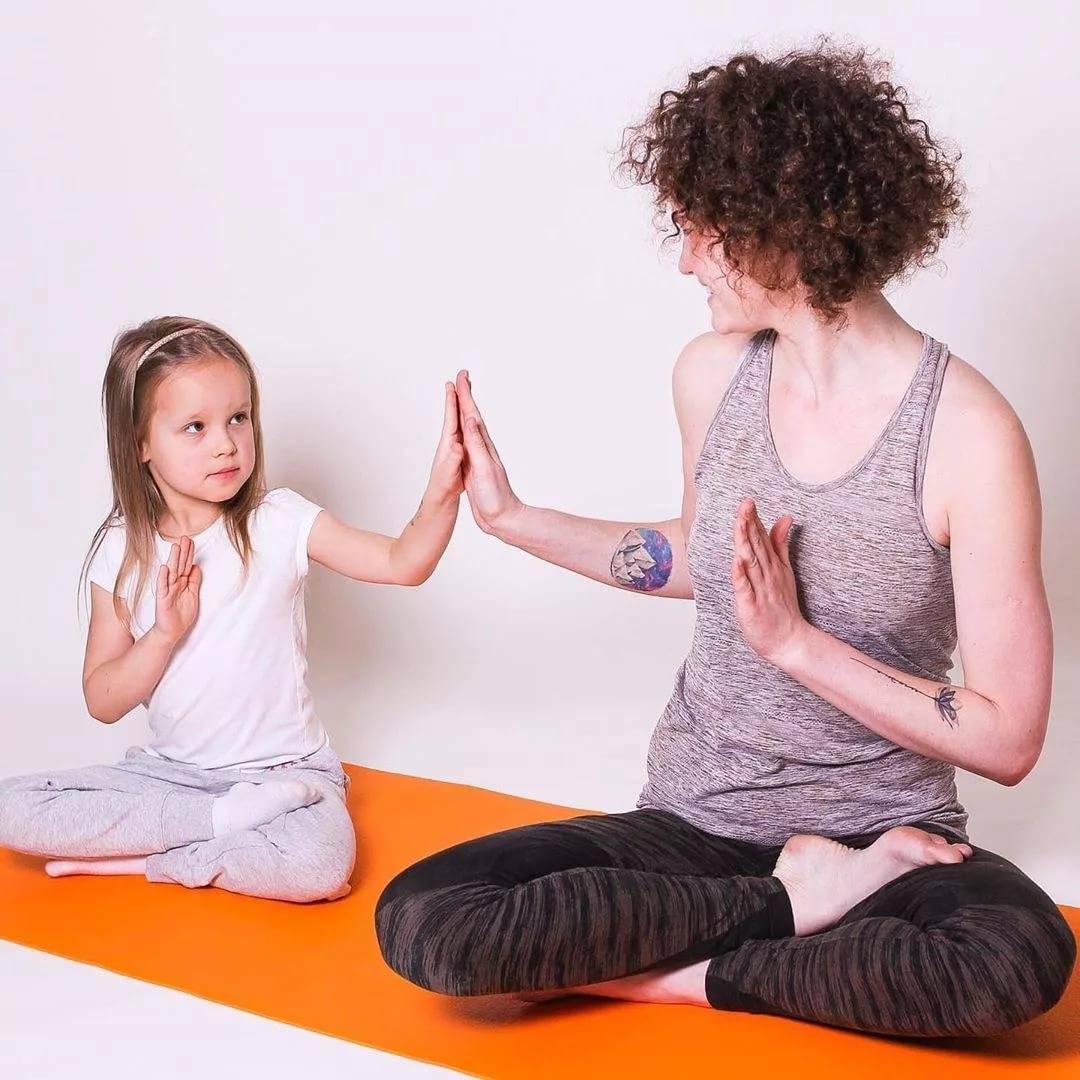 Зачем детям йога? 6 асан для начинающих «йожиков»