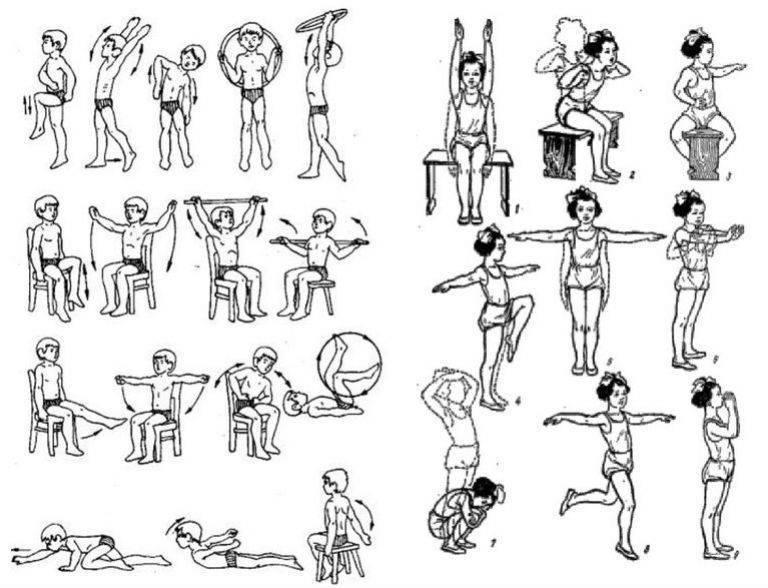 Лечебная физкультура для детей школьного возраста [1965 иванов с.м. - лечебная физкультура при бронхиальной астме у детей]