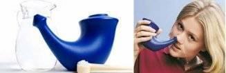 Промывание носа джала нети: как сделать раствор и, как правильно делать процедуру