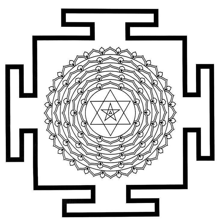 Глава 4. янтры: визуальные элементы. инструменты для тантры