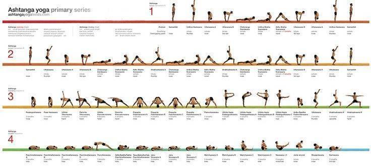 Все о сериях аштанга виньясы йоги: особенности, фото и видеоролики