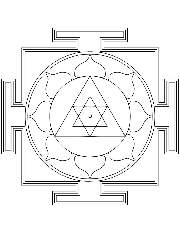 Ведические янтры в картинках - описание, значение, использование