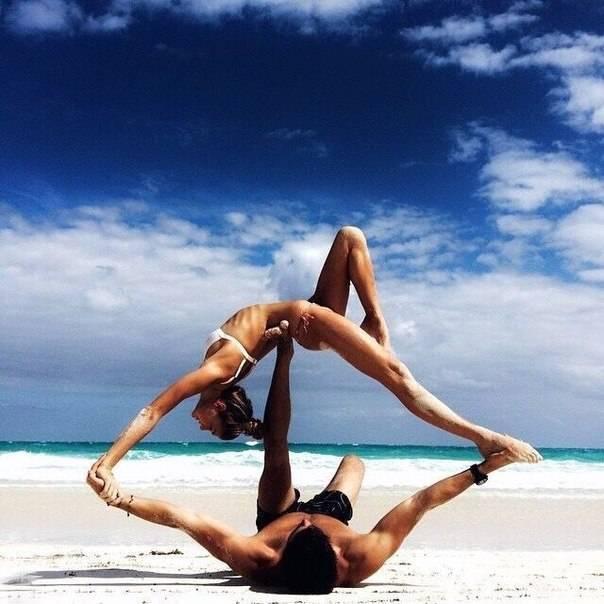Акройога в первый раз: 10 советов для пар, которые решили попробовать   мир йоги
