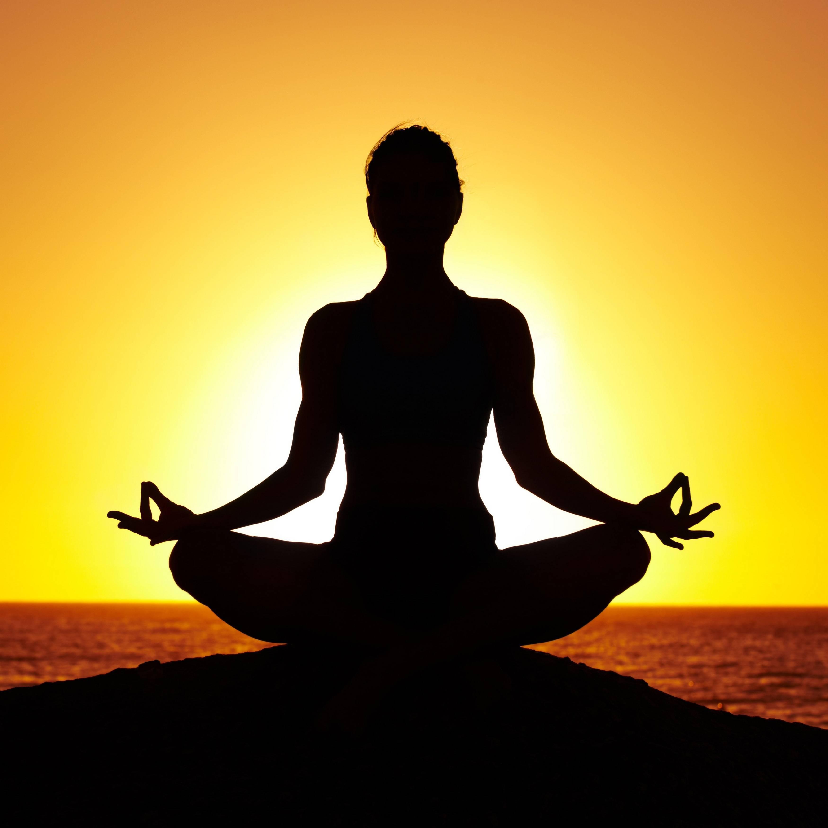 Полное йоговское дыхание в медитации