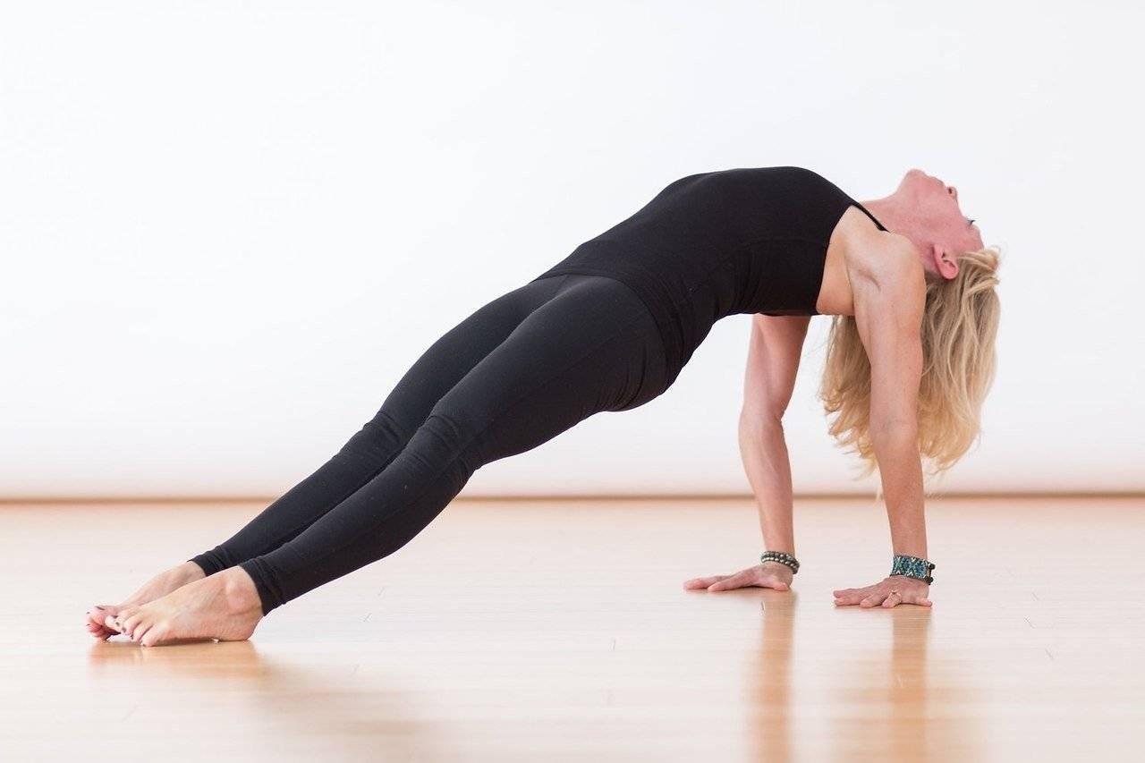 Урдхва дханурасана или поза колеса в йоге: техника выполнения, польза, противопоказания