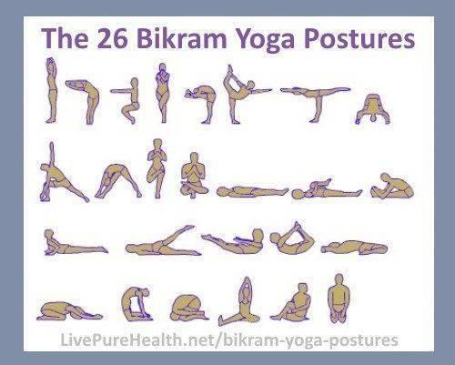 «горячая» йога: упражнения и польза для похудения