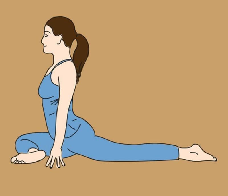 Йога перед сном для глубокого расслабления и крепкого сна