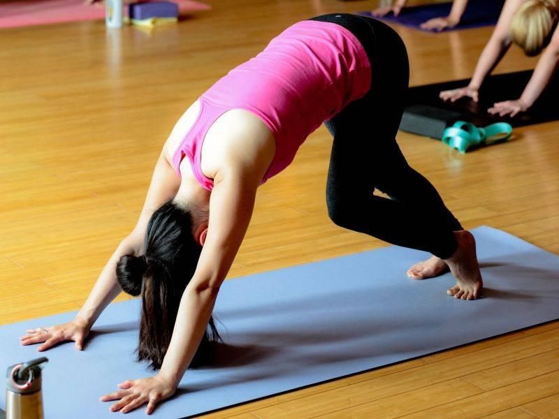 Йога для похудения, возможно ли избавиться от лишнего веса?