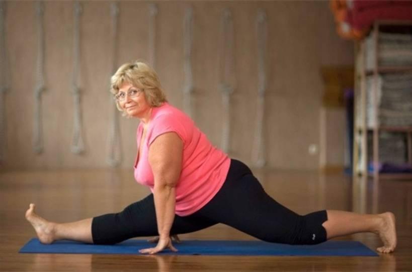 Йога для полных людей: комплекс упражнений, похудение