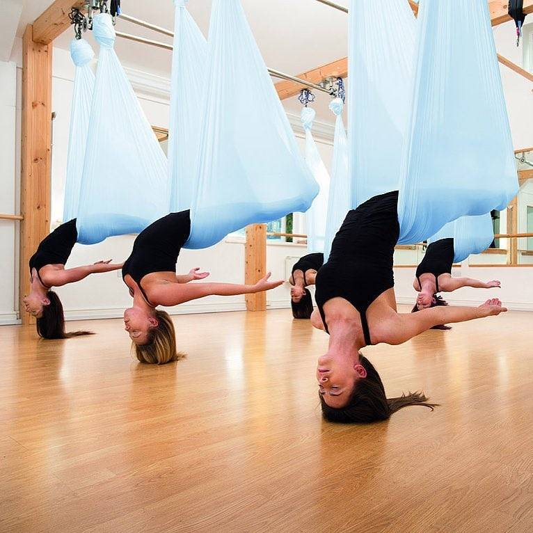 Что такое антигравити йога и почему нужно обязательно на нее сходить