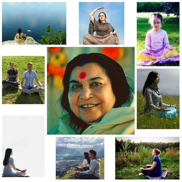 Сахаджа йога - уникальный метод медитации   we meditate