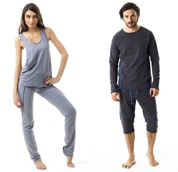 Одежда для йоги: мужская и женская, фото