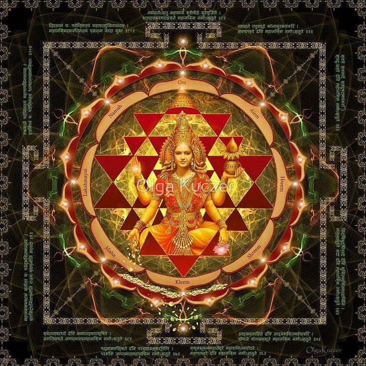 Объяснение значения Лакшми янтры: описание символа