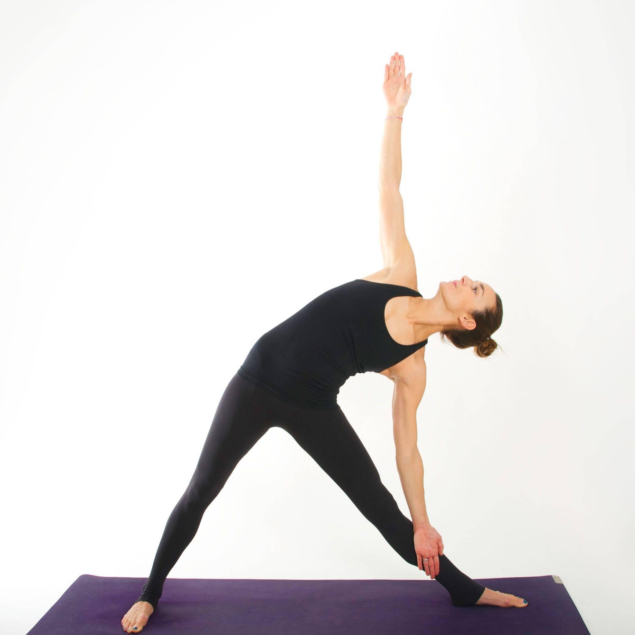 Уттхита паршваконасана: техника выполнения позы в йоге с фото и видео