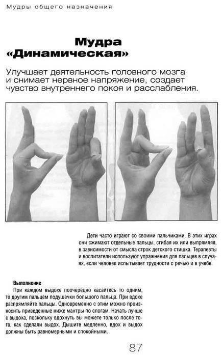 Мудры - символические и ритуальные жесты рук