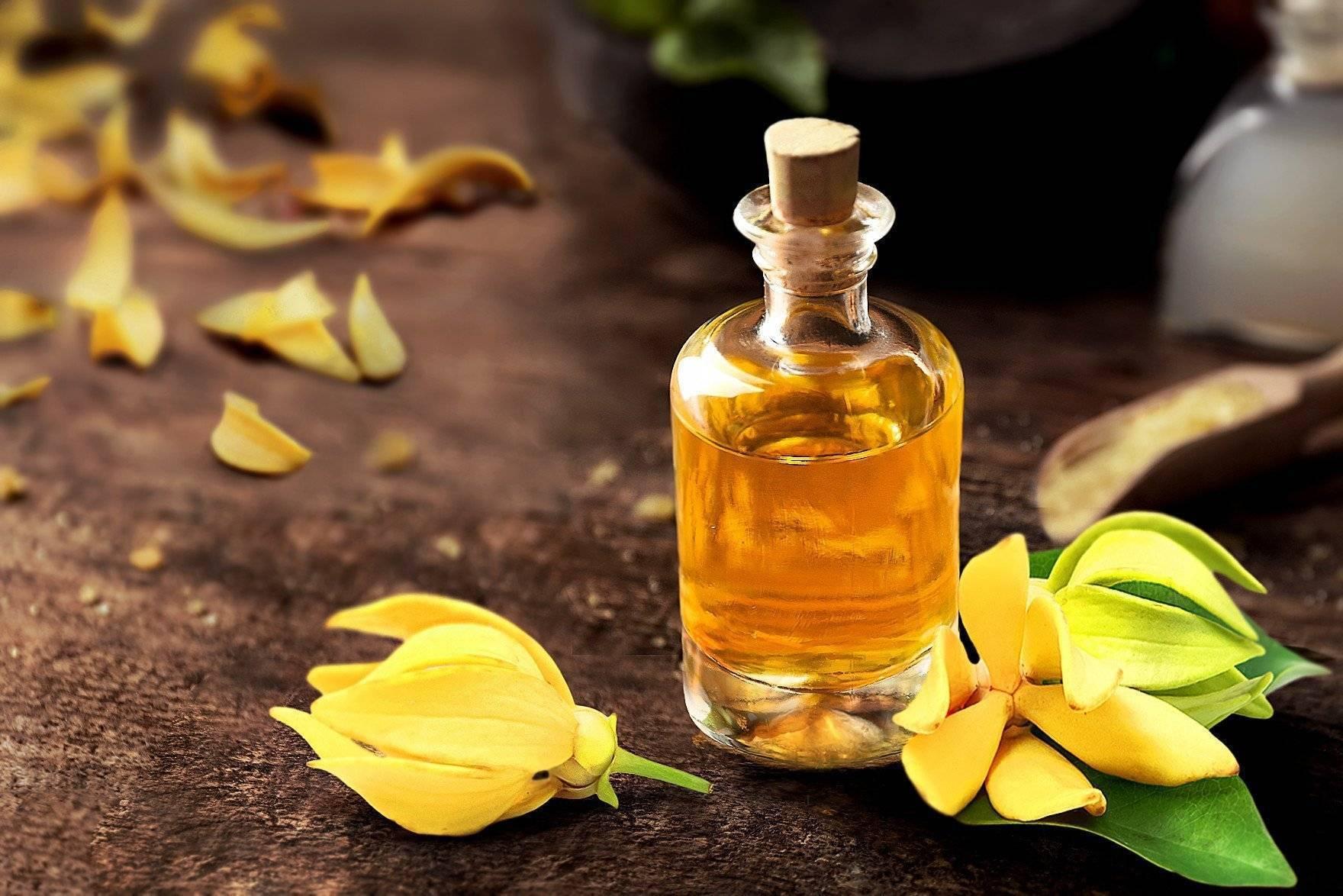 Масло иланг-иланга эфирное: свойства и применение | oleos