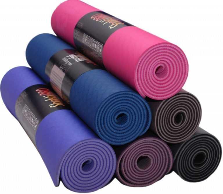 Как выбрать коврик для йоги и фитнеса