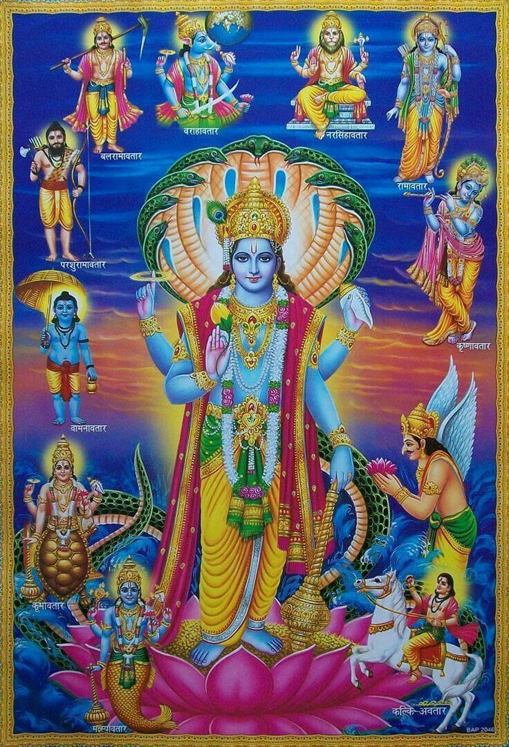 Вишну – самый многоликий бог индии