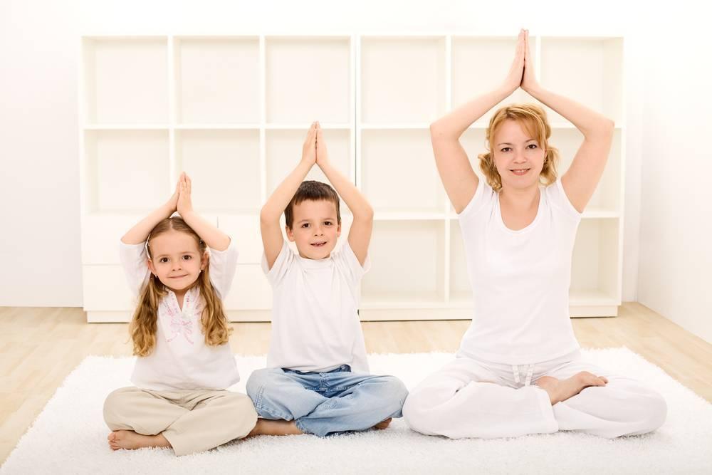 Детская йога. что это и нужна ли?