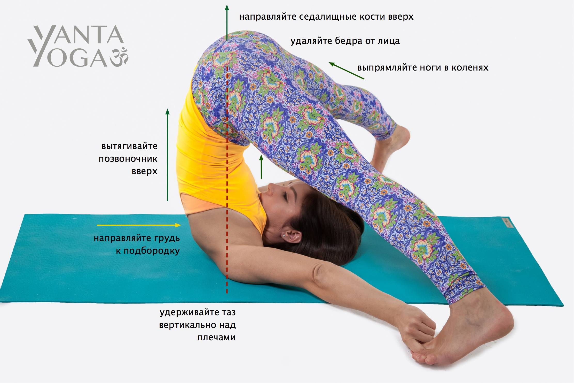 Йога для исправления осанки: упражнения