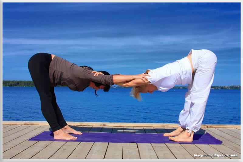 Парная йога для укрепления отношений с партнером - 7 поз