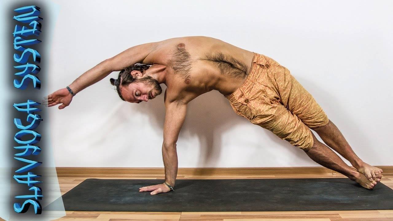 Джатхара-паривритти — поза скручивания желудка. анатомия йоги