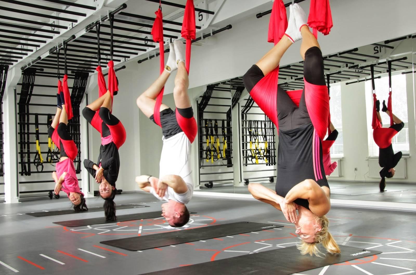 Антигравити-йога: новый вид фитнеса