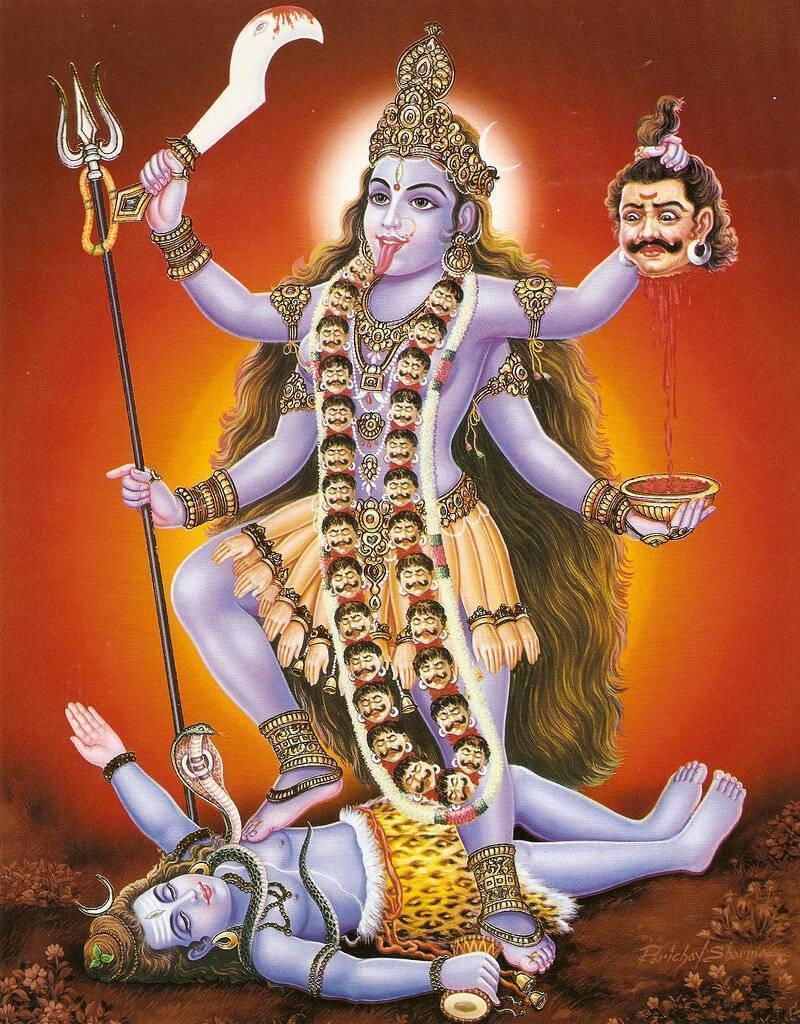 Богиня кали - культ богини смерти