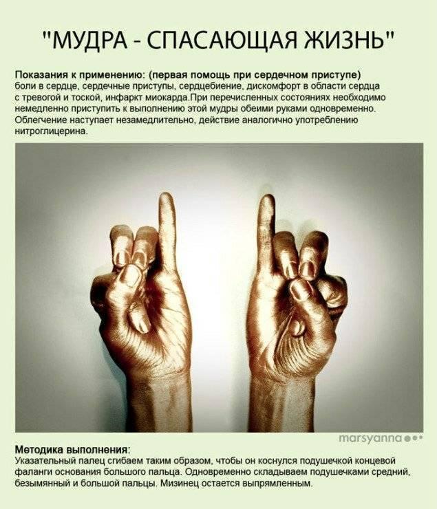 Мудры йога для пальцев с описанием, пользой и техникой выполнения
